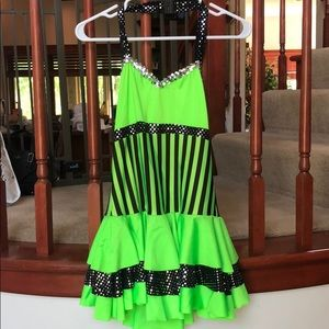 Green Dance Costume